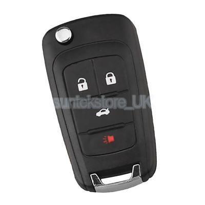 Car 4 Button Remote Keyless Entry Key Fob Chip Kit for Chevrolet Cruze Aveo