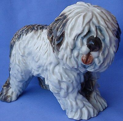 Old English Sheepdog Cacciapuoti Italy Dog 9""