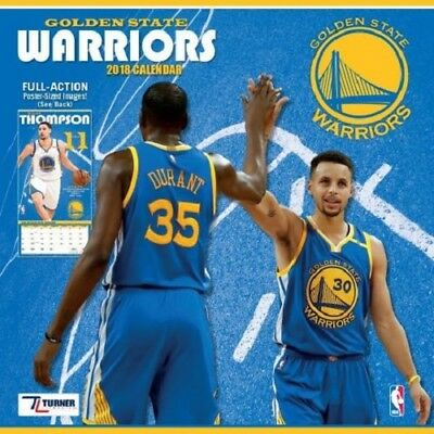 NBA GOLDEN STATE WARRIORS Kalender Wandkalender Calendar 2018 Basketball