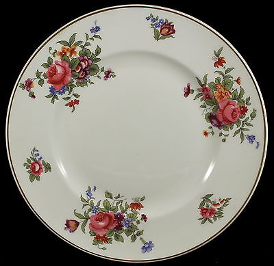 "Crown Staffordshire Dresden Spray -- (8) 8-3/8"" Plates Plate Set"