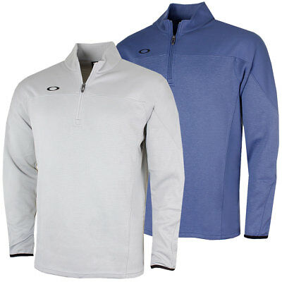 Oakley Golf Mens 2017 Gridlock 1/4 Zip Pullover Sweater Jumper 40% OFF RRP