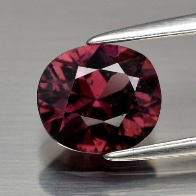 1.51ct 7.6x6.7mm Oval Natural Pink Spinel Unheated, M'GOK