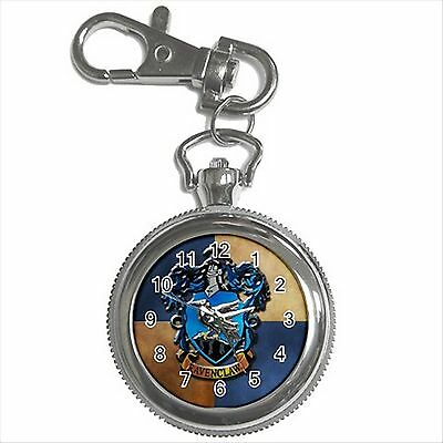 NEW HARRY POTTER RAVENCLAW HOGWARTS SCHOOL Key Chain Ring Watch Gift D03