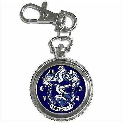 NEW HARRY POTTER RAVENCLAW HOGWARTS SCHOOL Key Chain Ring Watch Gift D02