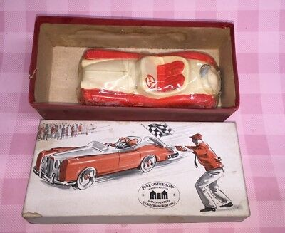 Castile Soap Carved Sports Car