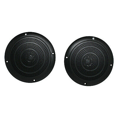 "Magnadyne 5"" Waterproof Marine Boat Hot Tub Dual Cone Audio Speaker - White"