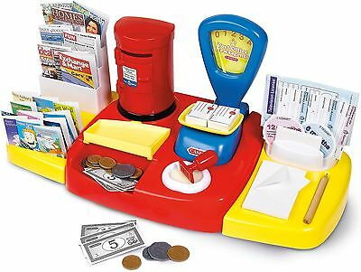 Casdon POST OFFICE SET Pretend Role Play Newspaper Play Money Kids Toy  - BN