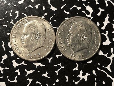 1975 Haiti 10 Centimes (2 Available) High Grade! Beautiful! (1 Coin Only)