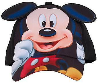Baseball Cap - Disney - Mickey Mouse Ears Kids/Youth Hat New 243576