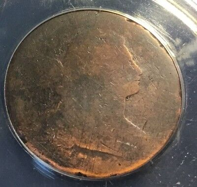 1796 Draped Bust Large Cent ANACS Graded!