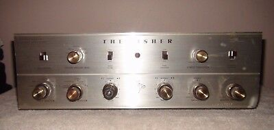 Vintage Fisher KX-200 Stereo Integrated Amplifier Needs Tubes  Parts or Repair