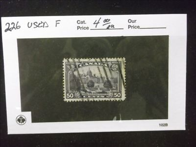 2475 Canada Used Stamp Pack #226