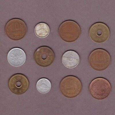 Japan - Coin Collection - Lot #G - World/Foreign/Asia