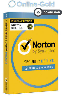 Norton Security 2018 3 Geräte 1 Jahr - EU Version - PC MAC Internet Security