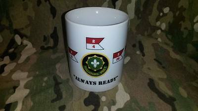 "US Army 2nd Cavalry Regiment TOUJOURS PRET Coffee Mug "" Always Ready "" Tasse"
