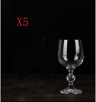 New 5X Capacity 150ML  Height  150MM  Transparent  Red Wine Glass/Glassware %