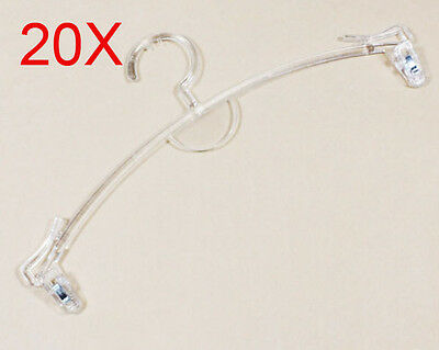 Transparent Color S 27 CM PP Plastic Bra/Underpants Hook Wholesale Lots 20 PCS