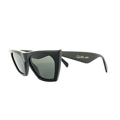 9576a045a6d CELINE SUNGLASSES 41468 S Edge 807 IR Black Grey Blue - EUR 168