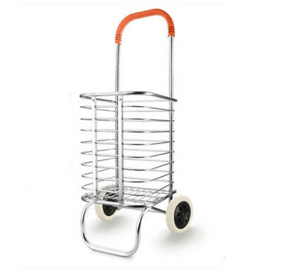 E70 Rugged Aluminium Luggage Trolley Hand Truck Folding Foldable Shopping Cart