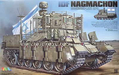 TIGER MODEL® 4616 Israel Defense Forces Nagmachon Doghaouse Late APC in 1:35