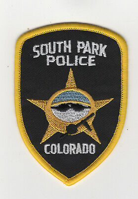 South Park Police embroidered Patch 3 1/2 inches long
