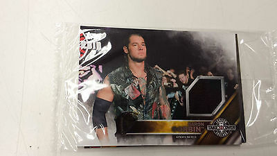 2016 Topps WWE Baron Corbin Card NXT London Takeover Authentic Mat Relic