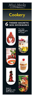 Mini-Mark Reference Bookmarks/Pagemarks - Cookery