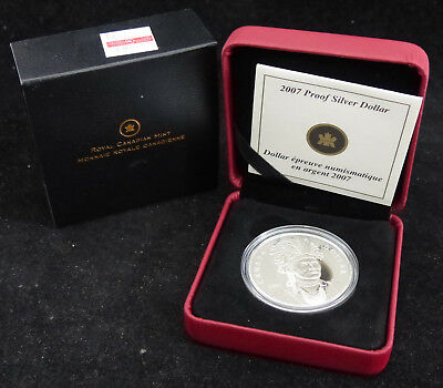 2007 Canada 1$ Dollar Sterling Silver Coin Celeb Rating Thayendanegea