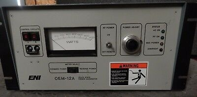 ^^ Eni Model Oem-12A-21041-51 Rf Power Generator-  (#1485)