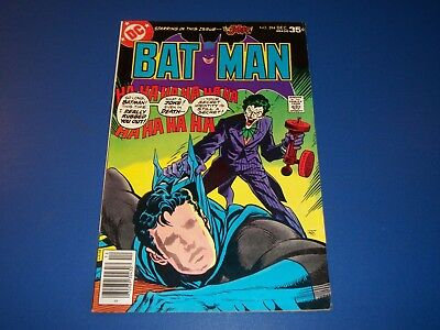 Batman #294 Bronze Age Joker Fine Wow