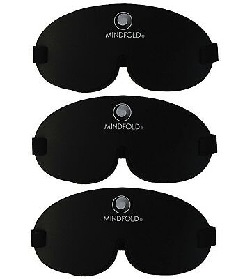 Mindfold Relaxation Mask 3 Mask Deal- Sleep Therapy Eye Mask /Travel Eye Mask