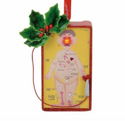 Department 56 Hasbro Operation Game Board Christmas Tree Ornament 4057982 New