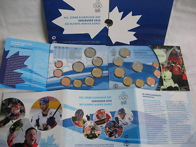 Slowakei 2010 1 Ct - 2 Euro Kms St Bu Hgh - Olympische Winterspiele In Vancouver