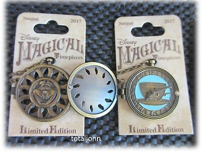Disney Alice in Wonderland Cheshire Cat  Pocketwatch Magical Timepieces Pin