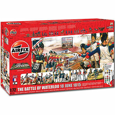 AIRFIX A50174 Battle of Waterloo 1815-2015 Gift Set 1:72 Military Model Kit