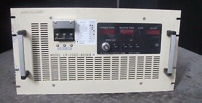 Pearl Japanese  Lp-2000-800Kb  Rf Power Generator  (#1506)