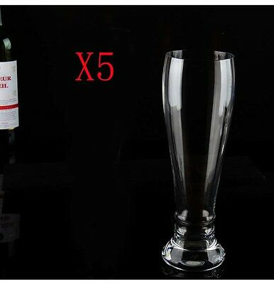 New 5X Capacity 650ML Height 252MM Super Large Beer Wine Glass/Glassware %