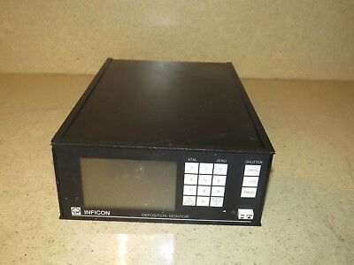 Leybold XTM/2 Inficon Thin Film Deposition Monitor 758-500-G1
