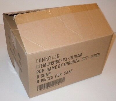 Jaqen H'Ghar Funko Pop EMPTY Case Box Outer Game of Thrones GoT Exclusive NYCC