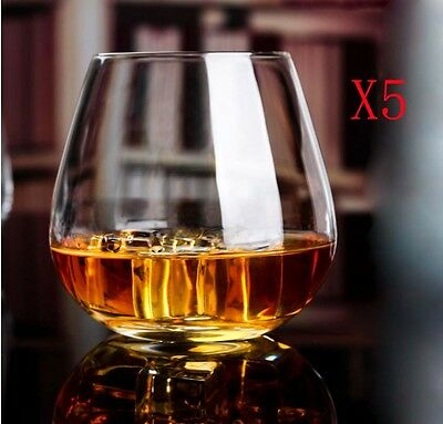 New 5X Capacity 604ML Height 101MM Transparent Whisky Wine Glass/Glassware %
