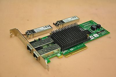 HP STORAGEWORKS 82E AJ763A 8Gb Dual Port PCIe Fibre Channel HBA Card  489193-001