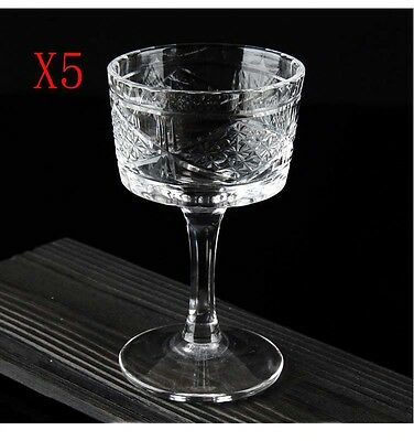 New 5X Capacity 130ML Height 134MM Creative Cocktail Wine Glass/Glassware %