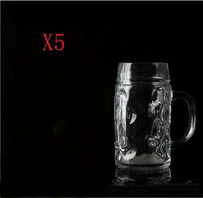New 5X Capacity 640ML Height 162MM Transparent Beer Wine Glass/Glassware %