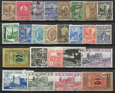 TUNISIA STAMP COLLECTION & PACKET of 25 DIFFERENT Used Stamps NICE SELECTION