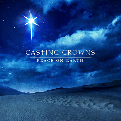 Casting Crowns - Peace on Earth CD 2008 Beach Street Records ** NEW **