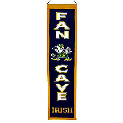 NCAA Football NOTRE DAME FIGHTING IRISH College Wimpel Pennant Banner Man Cave