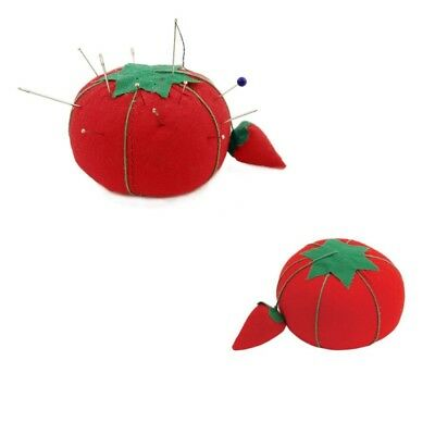 2 x Tomato Pin Cushion with Attached Sharpener