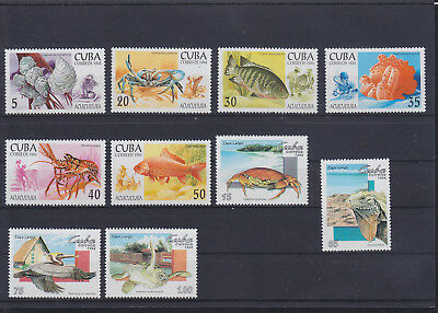 056347 Fische Fish ... 3749-54 + 3776-79 ** MNH Year 1994