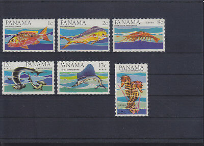056350 Fische Fish Panama 850-55 ** MNH Year 1965