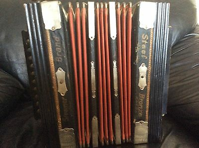 Antique Germany Accordion F.A.BOHM